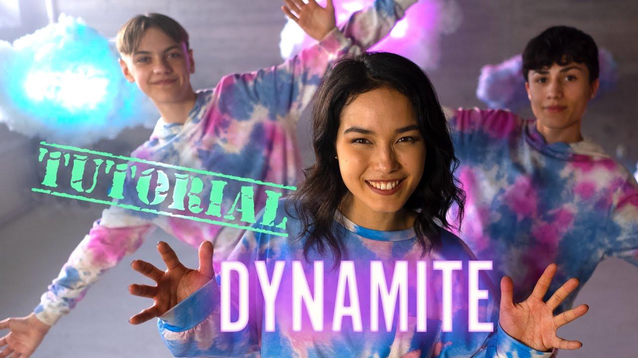 Varje steg i Dansvloggen- Dynamite