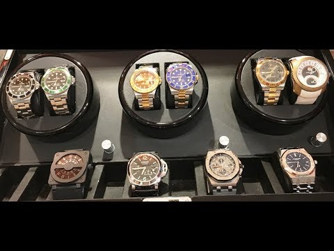 WEALTHY SINGAPOREAN - Rolex Sports and Audemar Piguet Royal Oak