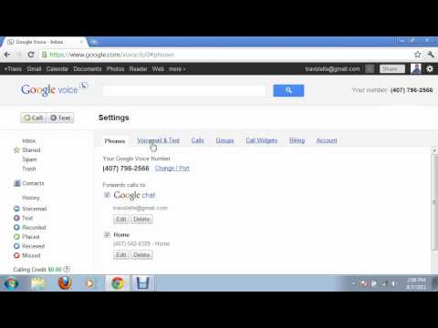 Google Voice - What it is and How to use it