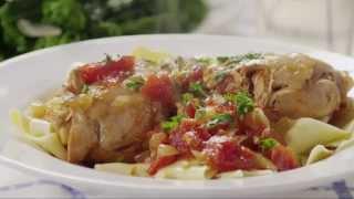 Crock Pot Wine & Tomato Braised Chicken Recipe