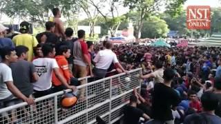 Malaysia Cup: Kedah football fans rush for tickets
