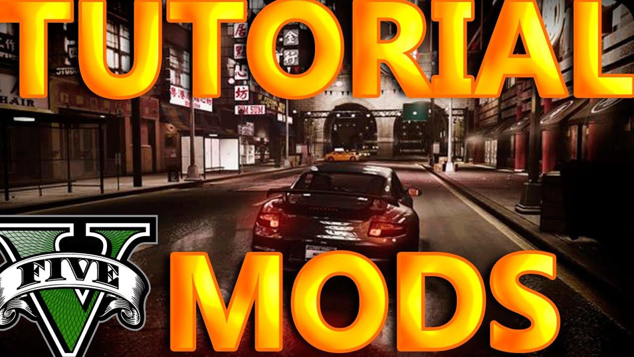 Como Instalar Mods GTA 5 Script Hook V, LUA Y Community Script Hook V  NET