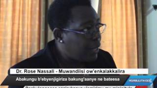 Abakungu b'ebyenjigiriza bakung'aanye ne bateesa thumbnail