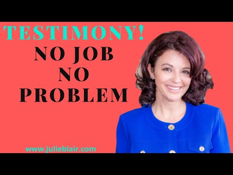TESTIMONY APARTMENT APPROVAL AND RELOCATION WITH NO JOB OR INCOME