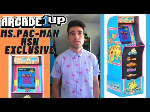 ARCADE1UP MS.PAC-MAN HSN EXCLUSIVE CABINET from Brick Rod