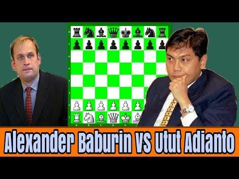 Grandmaster Catur Indonesia Utut Adianto berhasil mengalahkan GM Alexander Baburin pada tahun 1993