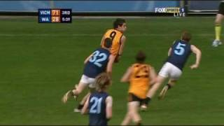 afldraftinfo.com - Tom Scully - 2008 AFL U18 Championships - July 9th