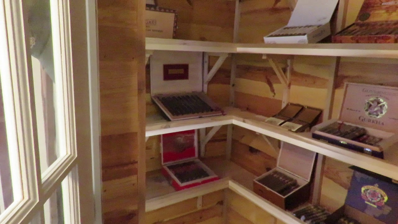 What did my Walk In Humidor Cost? - YouTube