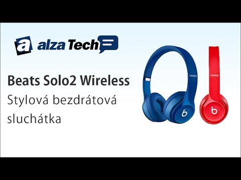 Beats Solo2 Wireless: Stylová bezdrátová sluchátka! - AlzaTech #212