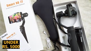 Osaka 3 Axis Smartphone Gimbal Unboxing And Review
