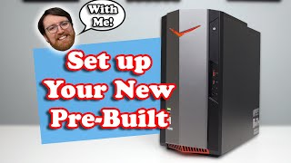 4 Simple Steps To Set Up Your NEW Pre-Built Gaming PC