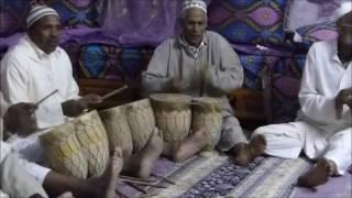 Jorf , Maroc, chants Sacrés