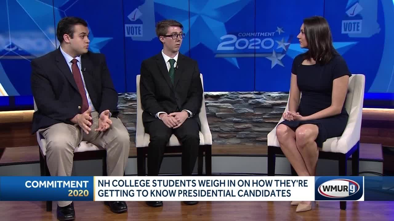 Young voters weigh in on how they're getting to know 2020 hopefuls