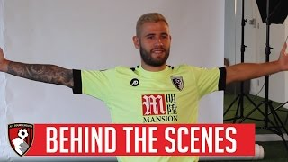 Behind The Scenes | Afc Bournemouth Launch 2016/17 Premier League Third Kit