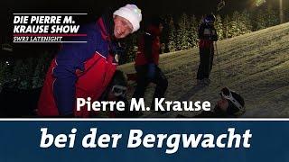 Pierre M. Krause bei der Bergwacht