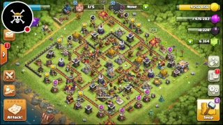Clash of Clans _Death base loot
