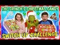 Download GRINCH'S CHRISTMAS CANDY SWITCH UP CHALLENGE | We Are The Davises