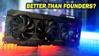 RTX 3080 ASUS TUF Gaming OC Review - BIG Gains Vs. Founders