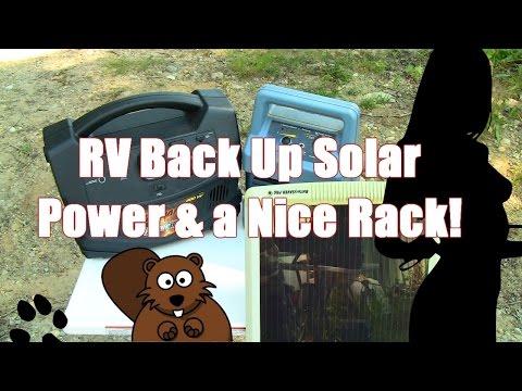 Back Up Solar RV Power & a Nice Rack!