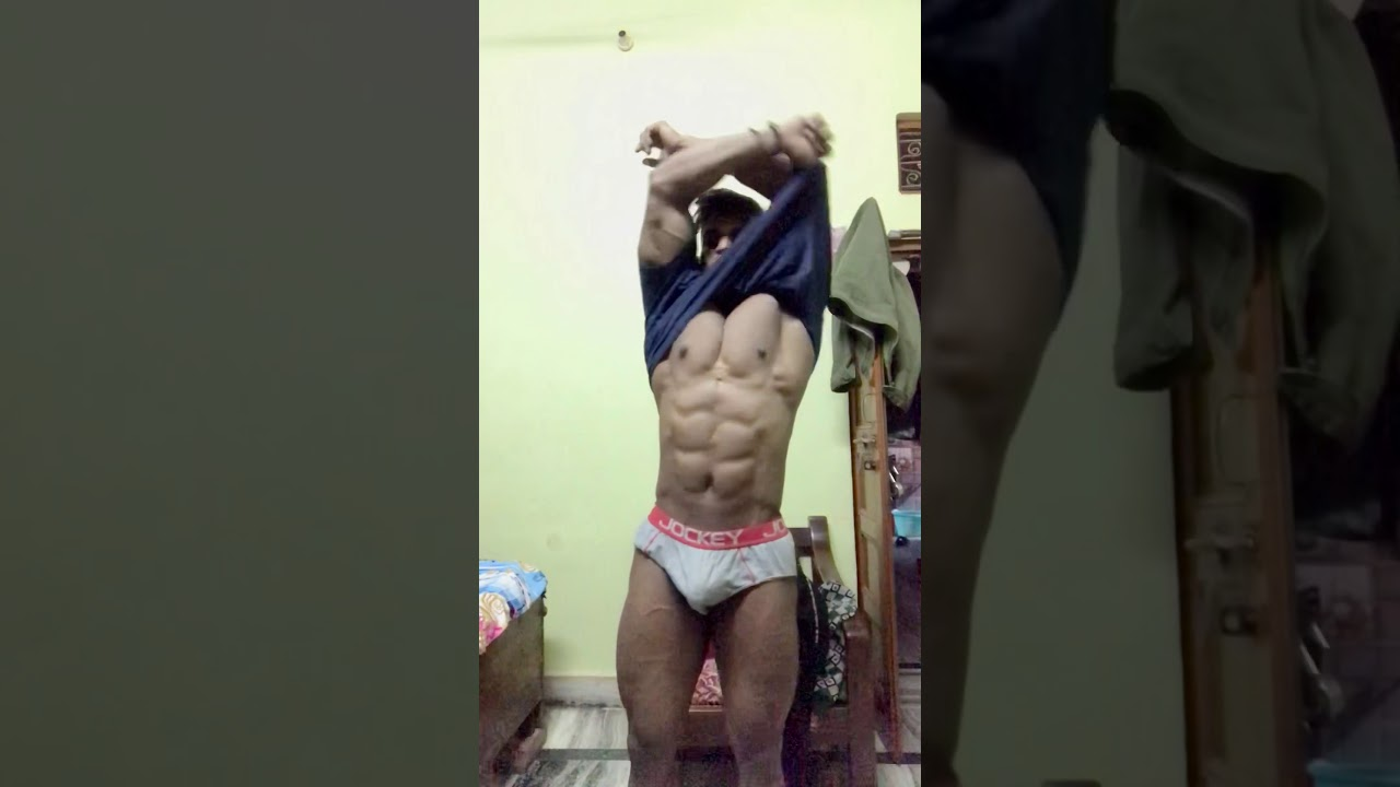 1 day before the bodybuilding competition - YouTube