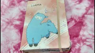 Мой личный дневник.Дневник с ламой