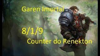 LoL-Garen Counter do Renekton Ranked(PT-BR)