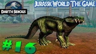 Jurassic World: The Game (Полное русское прохождение) - Эпизод #16  Капрозух