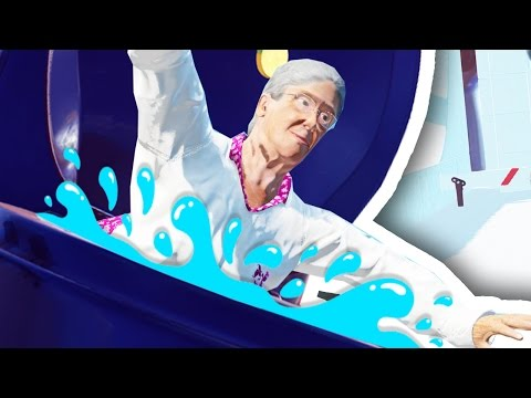 FLUSHING GRANDMA DOWN THE TOILET!!!