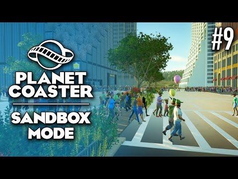 Housekeeping! - Planet Coaster: Sandbox - Ep. 9