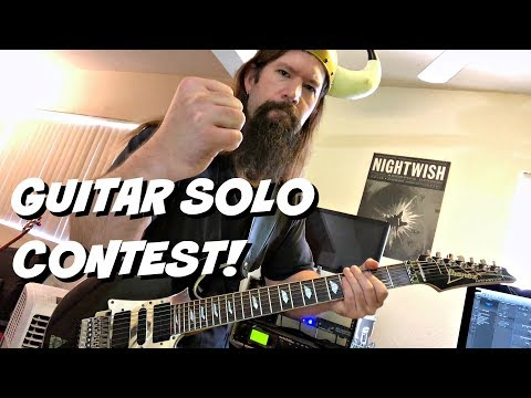 Neoclassical Metal Challenge | Guitar Solo Competition!