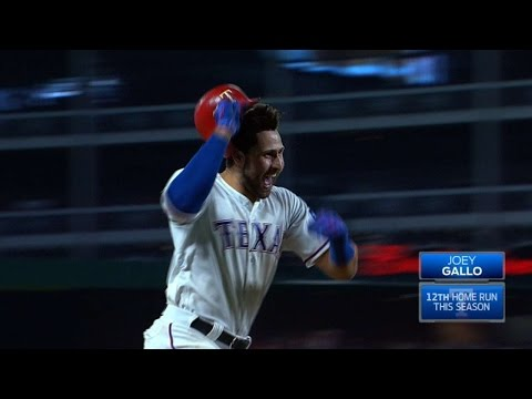 OAK@TEX: Gallo crushes a walk-off three-run homer