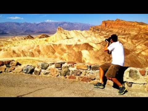 Death Valley National Park Day from Las Vegas