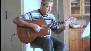 My Way -  for solo acoustic guitar