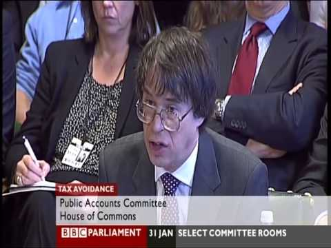 UK Tax Avoidance - Accountancy Debate, BBC Parliament