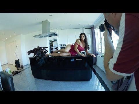 Behind the Szene Shooting Cindy Landolt
