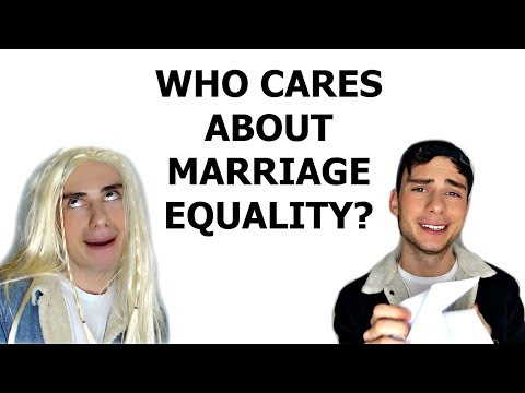 Who Cares About Marriage Equality??