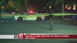 Police investigation closes road in New Haven