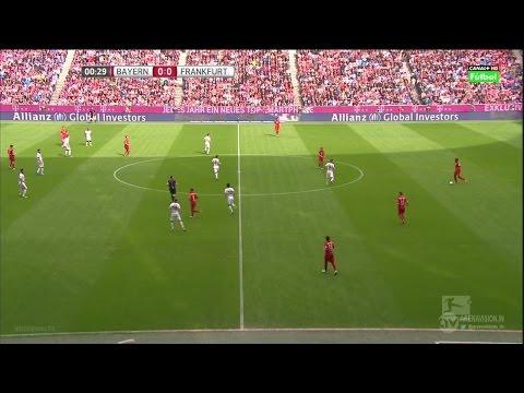 Bayern Munich vs Eintracht Frankfurt Live Stream - Bundesliga HD