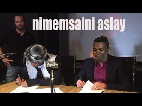 Alikiba kumsaini Aslay Kingsmusic thumbnail