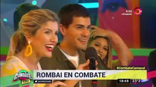 ¡el Nuevo Rombai Canta  En Combate Sus éxitos!