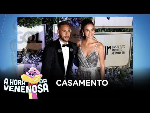 Pai de Neymar garante que Bruna Marquezine vai se casar com o filho