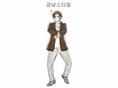 Gangnam Style 강남스타일 Psy Hetalia Youtube