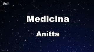 Medicina - Anitta Karaoke 【No Guide Melody】 Instrumental