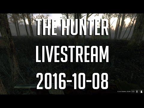 The Hunter med figgehn, Softis, Visman och Emil | Lördagsmys & Jakt [2016-10-08 Livestream]