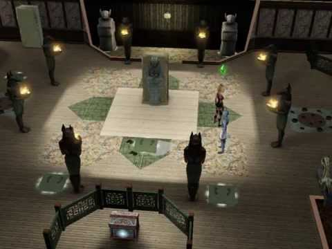 defeating dong huo mummy dragon mew the sims 3 world adventures youtube
