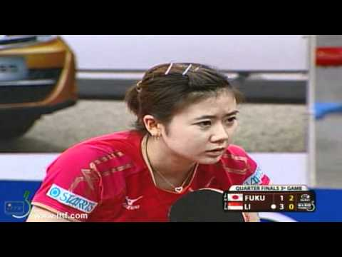 2012 World Tour Brazil Open. Quarter Finals: FUKUHARA Ai (JPN)  vs LI Jiawei (SIN)