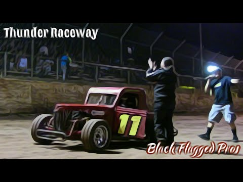 NADCAR Dwarf Main At Thunder Raceway July 16th 2016