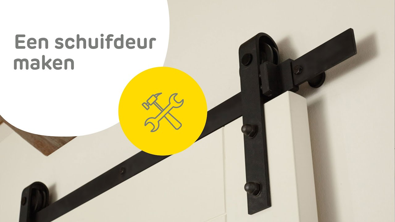 New Barndoor schuifdeur maken - hoe ga je te werk? - YouTube &WU31