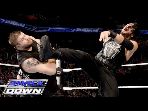 Roman Reigns & Dean Ambrose vs. Kevin Owens & Alberto Del Rio: SmackDown, November 19, 2015 thumbnail