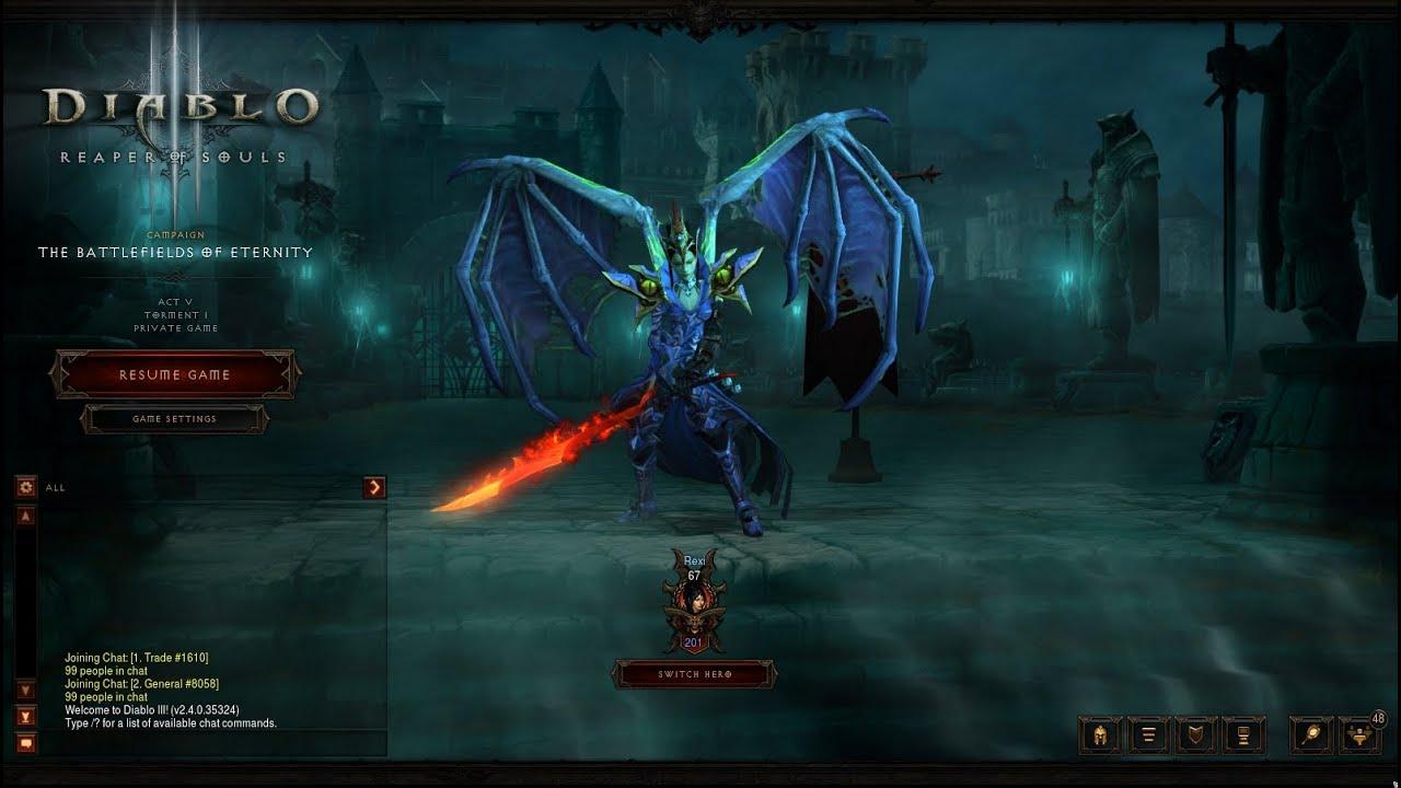 how to get wings? - Diablo III Forums - Battlenet